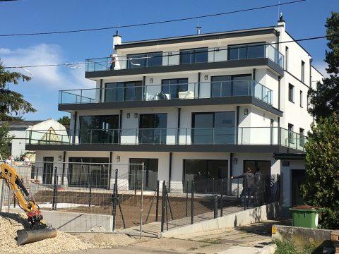 Ein Wohnkomplex in Wien wird von Steirisches Handwerk umgesetzt.