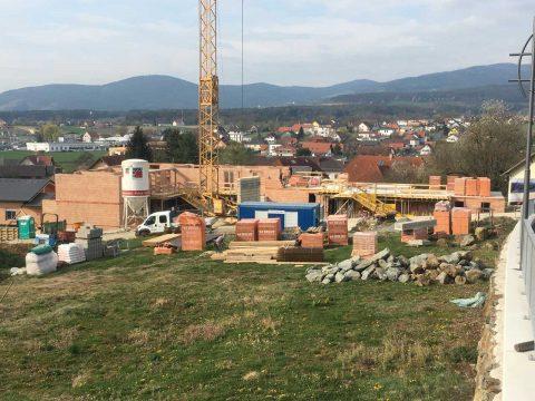 Bau einer zeitgemäßen Wohnhausanlage in Grafendorf