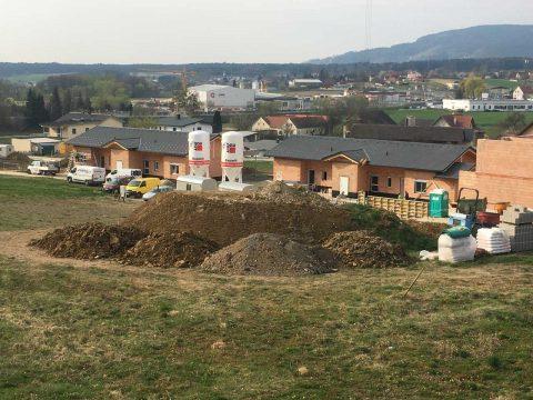 Wohnhausanlage mit Doppelhäusern im steirischen Grafendorf