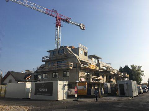 Baustelle Wohnhaus Wien