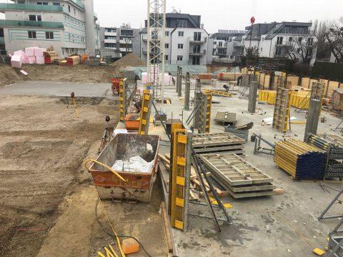 Bau Wohngebäude Wien